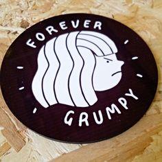 Love our new exclusive coasters by @meganmakesillustrations! . . . #forevergrumpy #grumpy #grumpylady #hnexclusive #supportindependent #shopsmall #giftshop #hiddennottm #shopnotts #itsinnottingham #lovenotts #nottingham