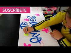 letra timoteo - # 2 decoración te amamos- mafe cavieles - YouTube Diy And Crafts, Videos, Poses, Lettering, Education, Tips, Cumpleaños Diy, Alphabet, How To Make Letters