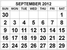58 Best Calendar 2012 Images Free Printables Free Printable