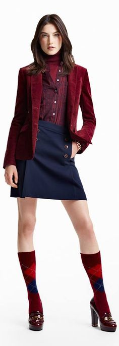 Tommy Hilfiger Fall Collection Among the Classics - Shop the Look https://www.facebook.com/pages/Fashion-Trends-and-Discounts/137797606390386?ref=hl
