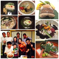 Kaiseki food and farewell dinner to the sub governor of Okayama city #kaiseki #food #japanese #okayama #japan #july2015 by roseoraphan