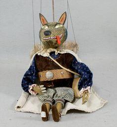 Tomas Stolba Fox Marionette Puppet, Czech Republic