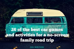 26 of the best car games and activities to keep kids happy...