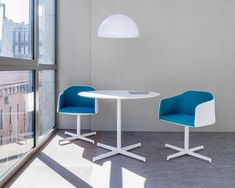 Contemporary design chair with armrests | Pedrali Laja 885