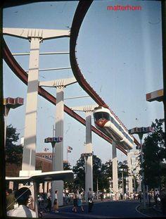 Monorail - NYC Worlds Fair, 64/65