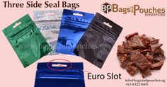 We offer superior quality #ThreeSideSealBags, which are highly acclaimed for their seal ability, convenience and leakage proof features.
