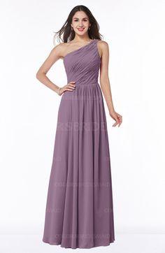 Valerian Sexy A-line Sleeveless Zip up Chiffon Ruching Plus Size Bridesmaid Dresses (Style D22185)