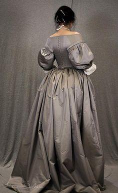 17th century gown - Merja Palkivaara