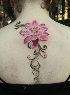 lotus tattoo | 50 Elegent Lotus Tattoo Designs | Cuded Lotus Tattoo Design, Simple Lotus Tattoo, Lotus Flower Tattoo Meaning, Lotus Flower Tattoo Design, Flower Tattoo Meanings, Lotus Flower Tattoos, Lotus Design, Tattoo Flowers, Lotus Flowers