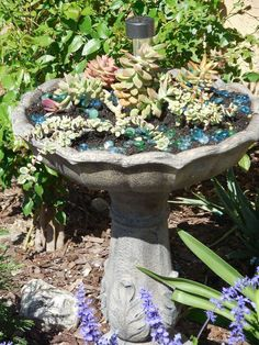 Up Cycled Fountain