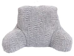 Plum & Bow Cable Knit Boo Pillow - Matchbook Magazine