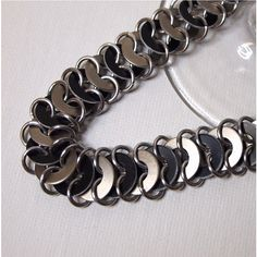 Unisex  Chainmaille Bracelet in Mixed Metals by ChainedByLightness, $20.00