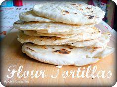 Mandy's Recipe Box: Flour Tortillas