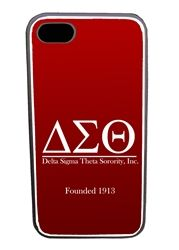 This exclusive Delta Sigma Theta iPhone 4/4s case features custom engraving on the metallic base with rubber siding. A must- have for the tech-savvy!