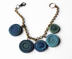 Bracelet  #polymerclay #fimo #bracelet #handmade