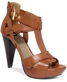 G by GUESS Women's Shoes, Henzie Platform Wedge Sandals -cut a little off the heel please