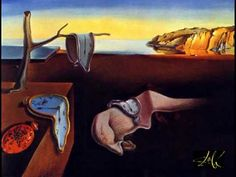 The Persistence of Memory, 1931 by Salvador Dali. Salvador dali is a great surealistic artist.probably one of the most famous ones and a great inspiration for surealistic photography L'art Salvador Dali, Salvador Dali Paintings, Most Famous Paintings, Famous Artists, Art Paintings, Painting Art, Kahlo Paintings, Funny Paintings, Painting Styles