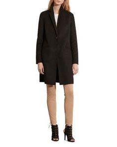 Lauren Ralph Lauren Reefer Coat | Bloomingdale's