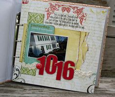 Love this idea of Scrapbooking your home room-by-room.