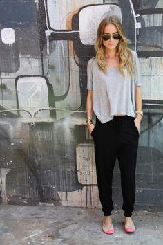 #ootd, casual street style, harem pants