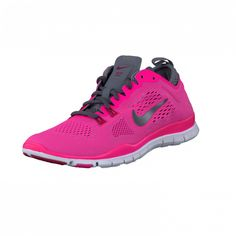 Nike - Wmns Nike Free 5.0 Tr Fit 4 Hypr Pnk/Drk Gry-Cl Gry-Wlf Gr | BRANDOS.fi