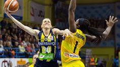 Página de la liga europea de basquetbol femenil