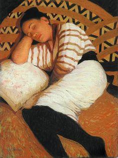 Portrait of a woman...Judy Drew (b.1951)