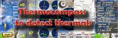 The ThermoCompass software is intended for, contrary to other ones used in paragliding, detecting new thermals.