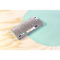 iPhone 5 Skin aus echtem Lachsleder - VANDEBAG