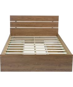 buy toronto double bed frame walnut effect at argoscouk your - Bed Frames Denver