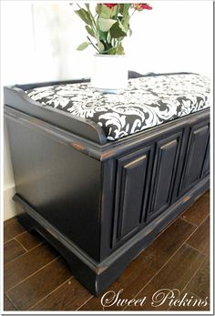 how to make a chest freezer look nice
