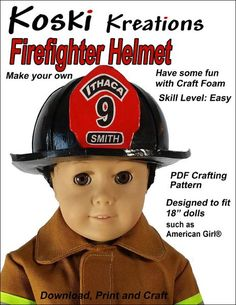 Do you have an 18 inch boy doll? Find sewing patterns designed to fit 18 inch boy dolls such as American Girl Logan, Gotz Parker, My Life As Schoolboy, Harmony Club dolls, and Boy Doll Clothes, Doll Clothes Patterns, Doll Patterns, Clothing Patterns, Sewing Patterns, Costume Patterns, American Boy Doll, American Girl Clothes, Firefighter Boots
