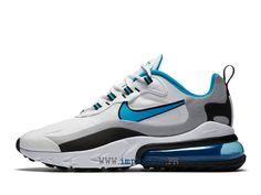 Officiel Chaussures Nike Sportswear Pas Cher Pour Homme Femme Noir gris blanc bleu CT1280-101 Nike Air Max 270 React-2012011653-Chaussures Nike Sportswear Prix Pas Cher En Ligne!
