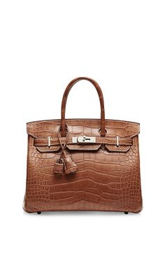 Hermes 30Cm Fauve Matte Alligator Birkin by Heritage Auctions Special Collection for Preorder on Moda Operandi