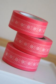 Washi Tape in Chiffon Pink - ONE ROLL