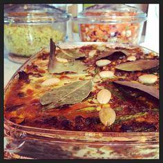 Zuid-Afrikaanse #Boboti met gele rijst wortelsalade... #homemade #foodporn #myview #eten