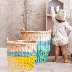cestas de ratán para niños