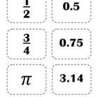FREE Here's a set of 30 Partner Picking Cards using Middle Grades Math content.  The math content is basic enough for most students to be able to use.  ...