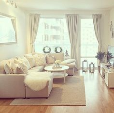 Pretty neutral living area