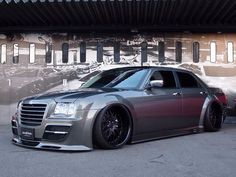 #Chrysler 300 #Custom #Slammed