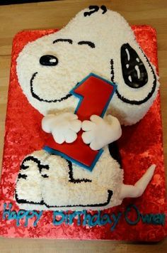 BABY SNOOPY 1'ST BIRTHDAY PARTY - Google Search
