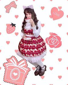 Valentine coordinate contest 🍫💐💖 ✨🌺🐹  Kay DeAngelis さん 🐰🌺✨ https://aliceholic.com/posts/9441  1 votes for favorite coordinating ✨ Vote is here 💕 https://aliceholic.com/contests/valentine-coordinate-contest-2018/posts
