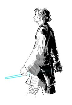 Star Wars Fan Art, Star Trek, Saga, Anthology Film, Anakin And Padme, Asoka Tano, Star War 3, The Force Is Strong, Anakin Skywalker