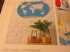 Stitchable map Mollie Makes 54