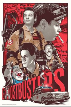 Gallery 1988 is holding a series of Ghostbusters art shows to commemorate the film's 30th Anniversary. It's a traveling art show that will go to New York, Los Angeles, Chicago, and San Diego. The two illustrations you see here will be a part of the show. The one above was created by Joshua Budich...