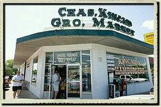 The original Kincaids Grocery and Market on Camp Bowie Blvd, Fort Worth, Texas - famous for hamburgers.