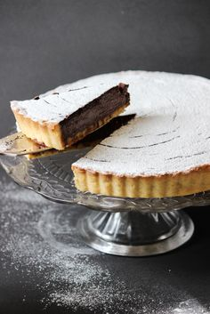 Chocolate and Passionfruit Tart