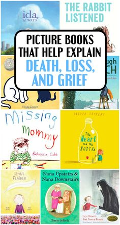 These children's books about death and grief are gentle ways to talk about loss with your child, whether before or after they've experienced it themselves. Coping Skills, Social Skills, Social Work, Grief Activities, Health Activities, Counseling Activities, Children Activities, Therapy Activities, Child Life Specialist
