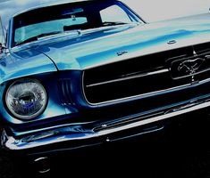 ford mustang Felixstowe beach classic car show 2008 by SoniaMphotography, via Flickr