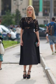 all black street style - Google Search